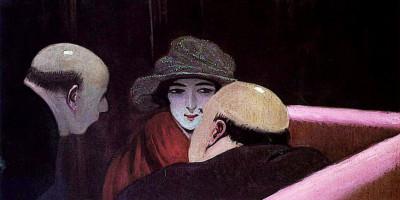 Chaste Suzanne. Felix Vallotton (1922)
