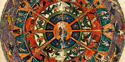 Heaven. Ende. Date: 975. Series: Gerona Beatus, 975