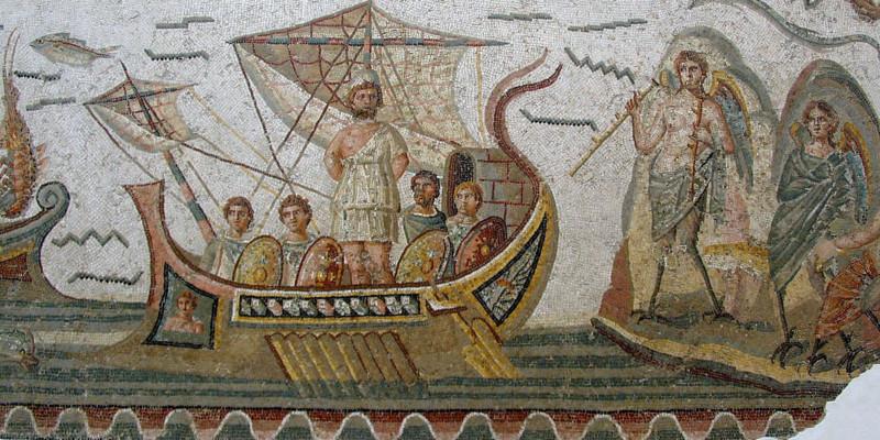 Ulisse e le sirene (Museo nazionale del Bardo, Tunisi)