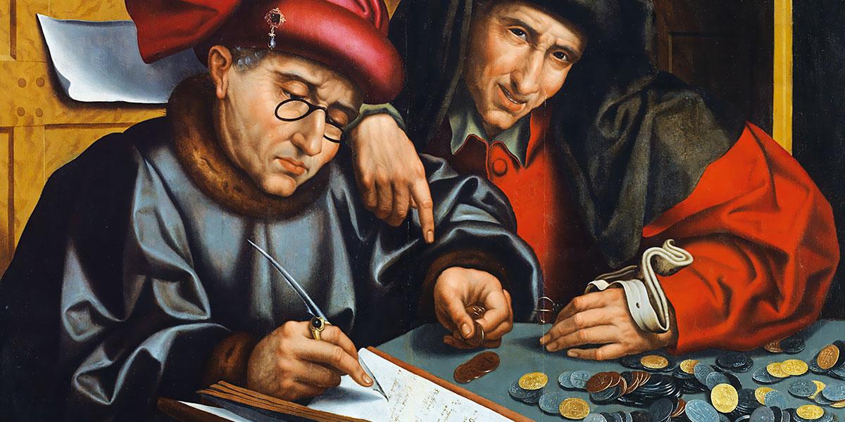 Los cambistas. Marinus van Reymerswaele (1490–1546)