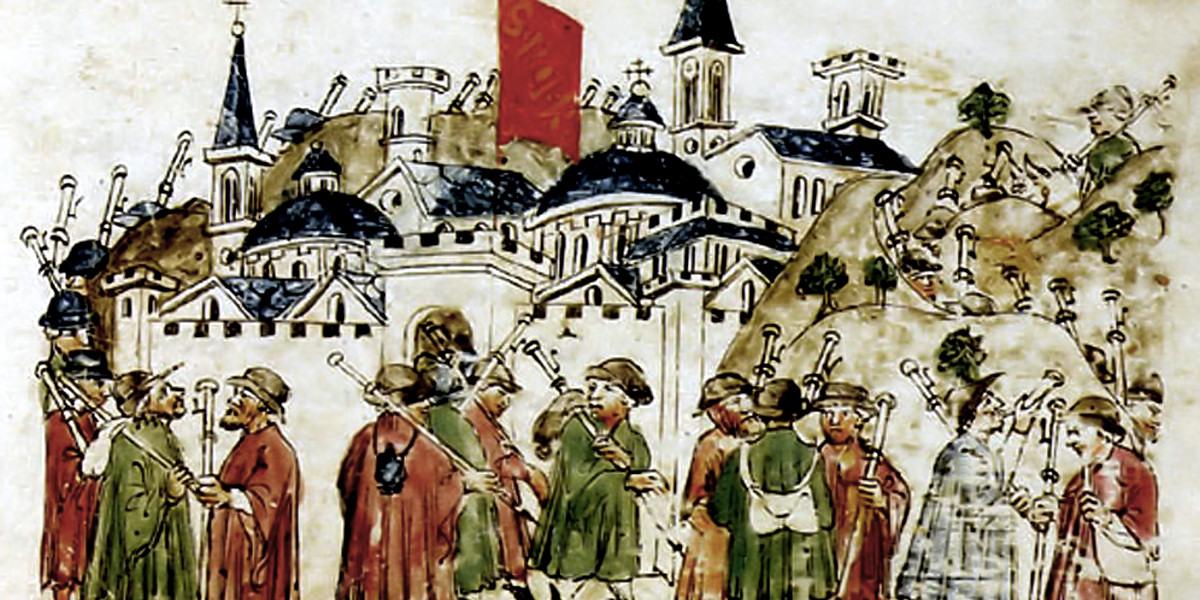 Come fu lo perdono di Roma Giovanni Sercambi, Cronache delle cose di Lucca, dal 1164 al 1424, A.S.L., Biblioteca Manoscritti, n. 107, c. 351r