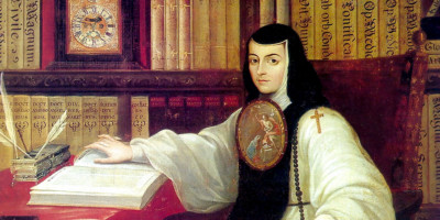 Portrait of Sor Juana Inés de la Cruz (1648-1695). Miguel Cabrera (1695–1768)