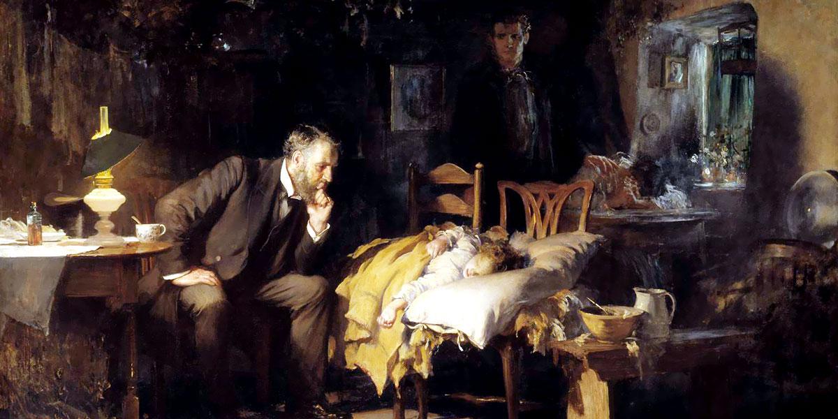 The Doctor. Luke Fildes