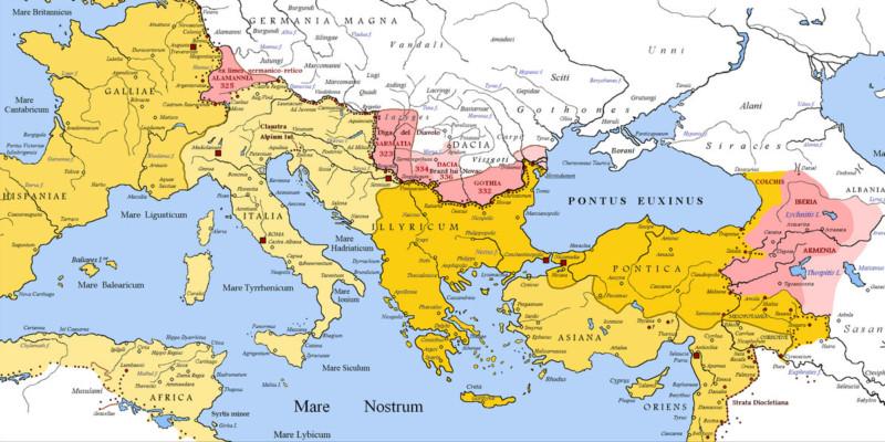 Le invasioni barbariche in Italia