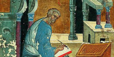 St. Matthew The Evangelist. Andrei Rublev, c. 1400
