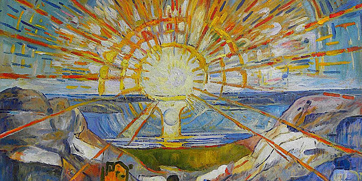 The Sun. Edvard Munch