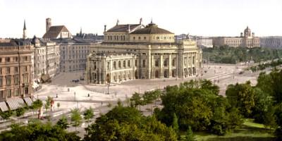 Burgtheater. Vienna