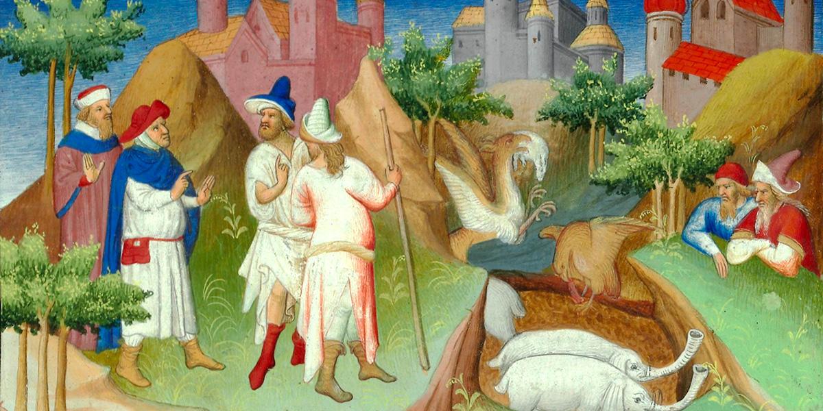 Marco Polo, Livre des merveilles, Fr. 2810, Tav. 88