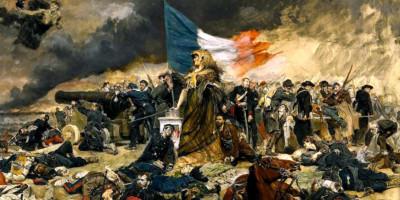 Ernest Meissonier (1815-1891). L'assedio di Parigi (1870-1871) 1884 circa. Olio su tela
