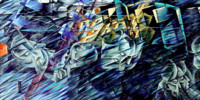 States of Mind: Those Who Go. Umberto Boccioni
