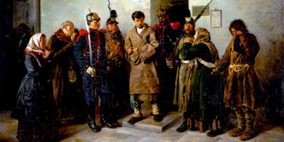 The convicted man, by Vladimir Makovsky