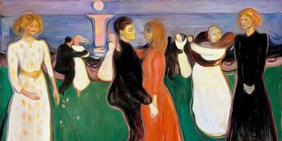 Dance Of Life. Edvard Munch