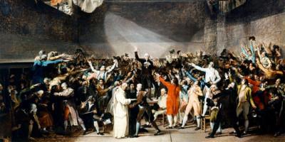 The Tennis Court Oath, 20th June 1789. Jacques-Louis David