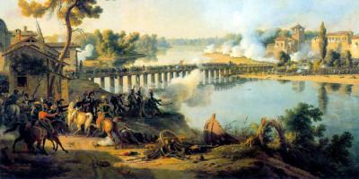 La Battaglia di Lodi di Louis-François Lejeune (1775-1848).