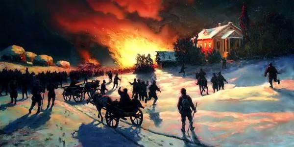 Fire. Efim Volkov