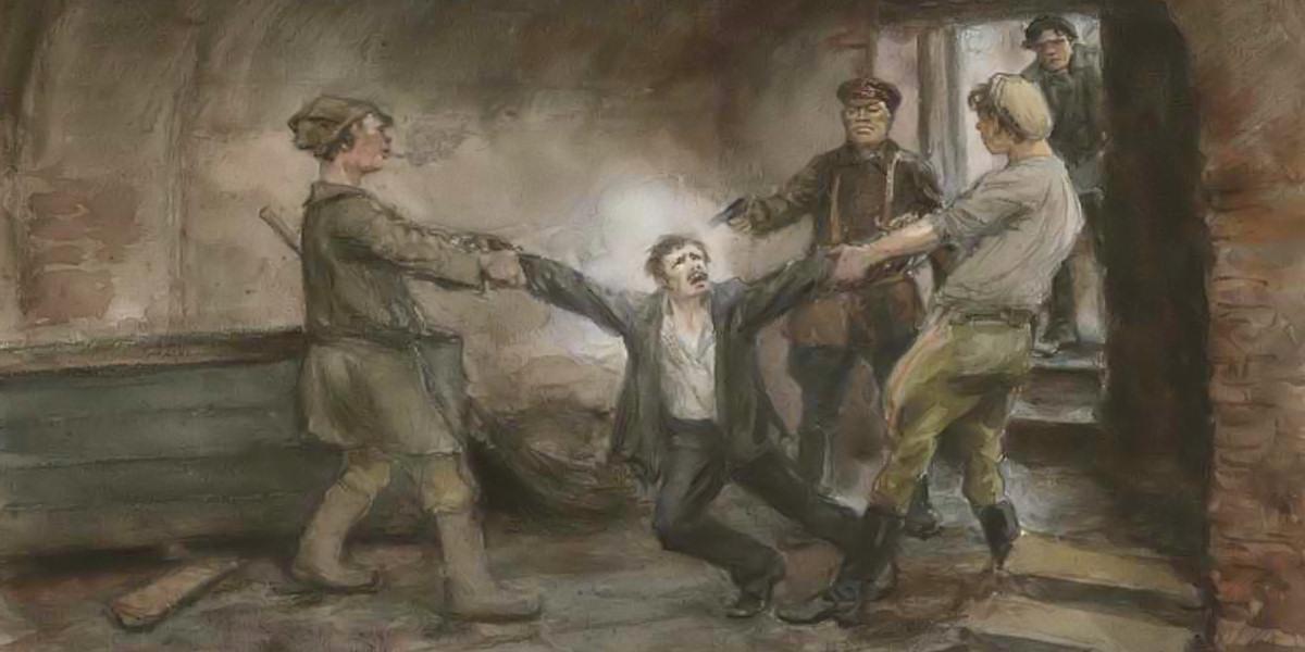In Basements of Cheka. Ivan Vladimirov (1869-1947)