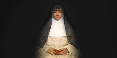 La Religieuse (1859) di Henriette Browne (1829–1901)