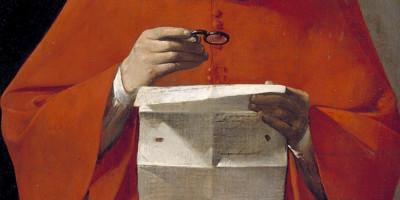 Saint Jerome reading a letter. Georges de La Tour