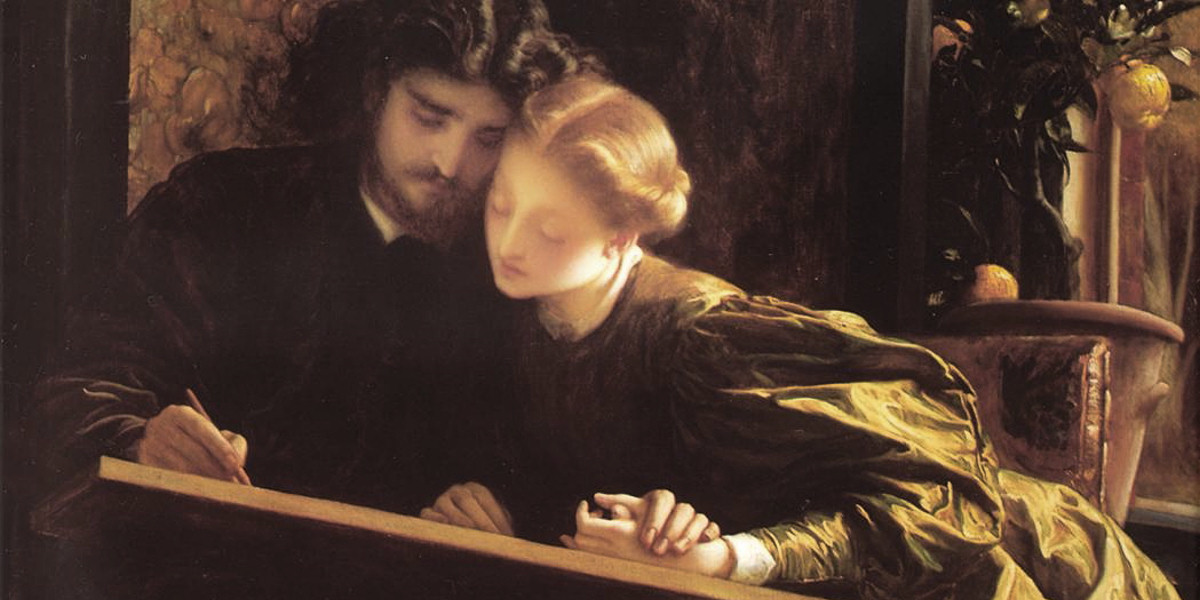 The Painter's Honeymoon. Frederic Leighton