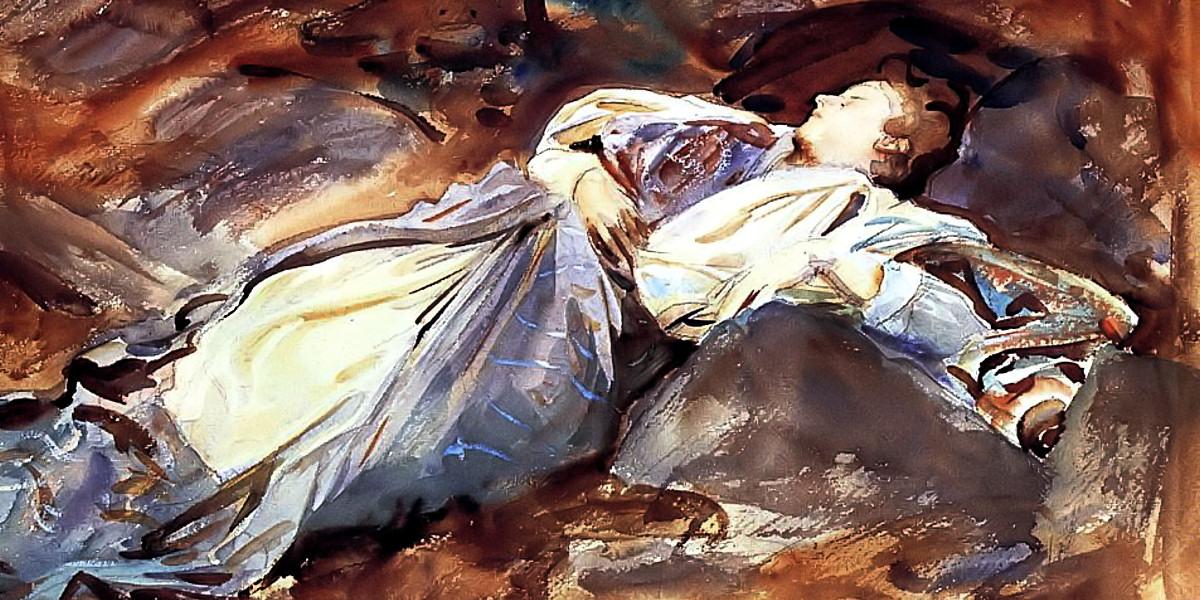 Violet Sleeping. John Singer Sargent