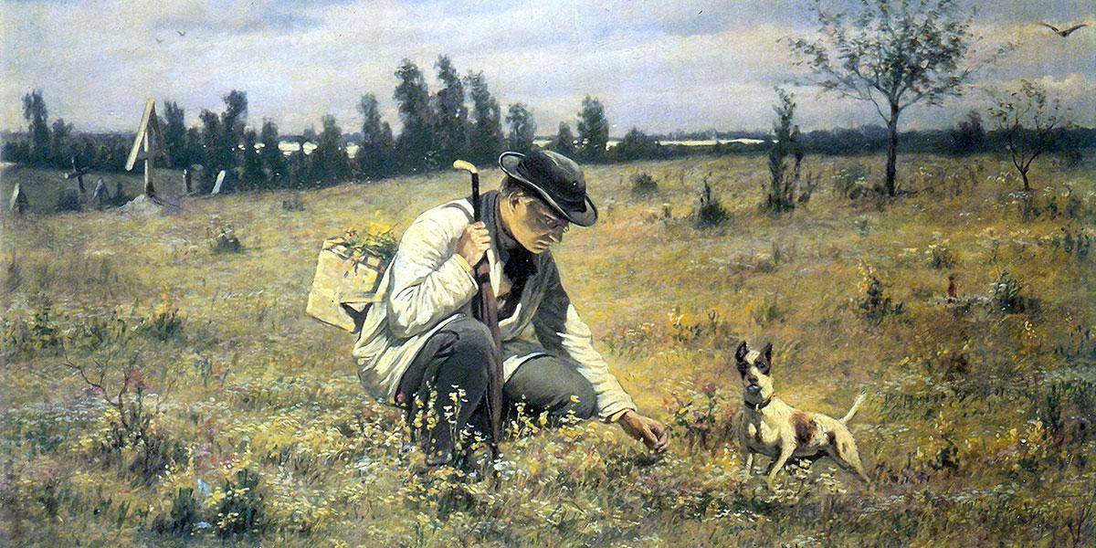 Botanist. Vasily Perov