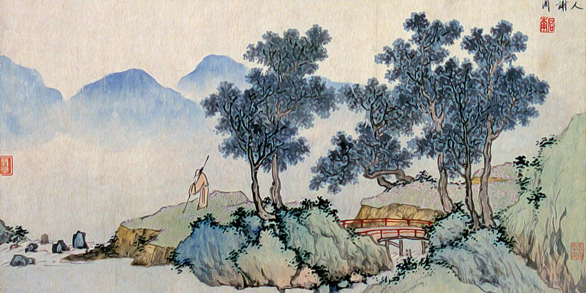 Falling Flowers. Shen Zhou