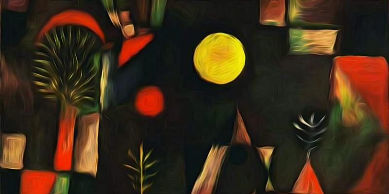 Full moon. Paul Klee. 1919