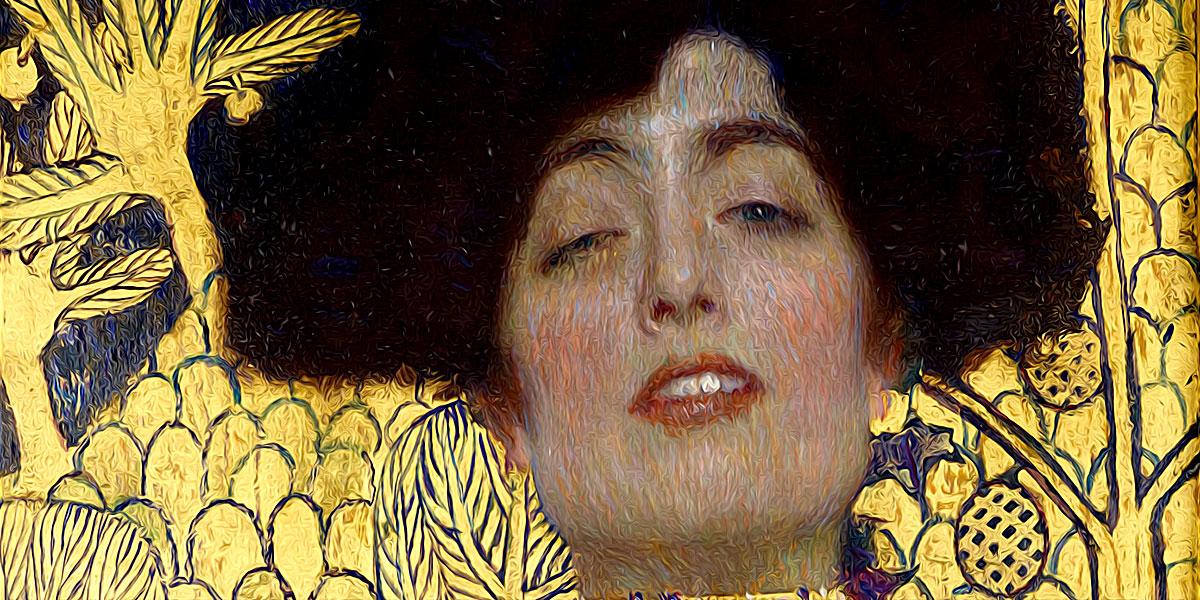Gustav Klimt. Judith mit dem Haupt Holofernes, 1901