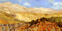 Village in Atlas Mountains, Morocco. Edwin Lord Weeks