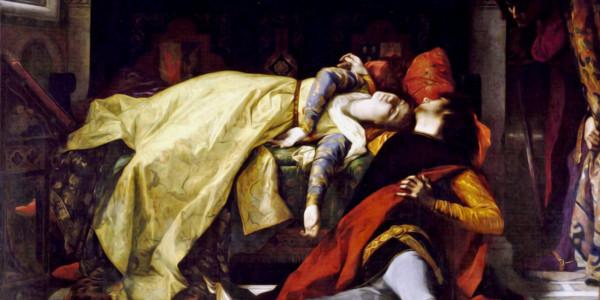 Morte di Francesca da Rimini e di Paolo Malatesta, 1870. Alexander Cabanel
