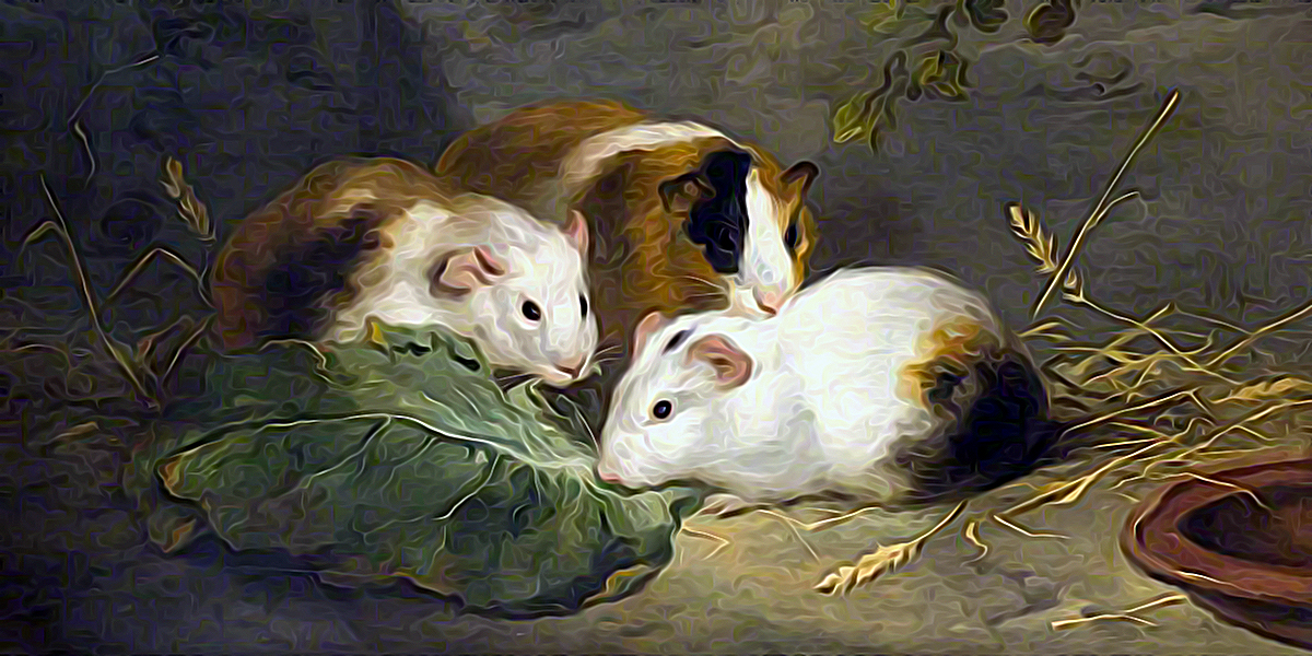 Guinea Pigs. George Morland