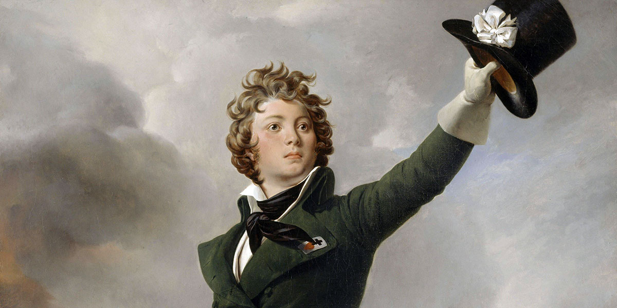 Antoine Philippe de La Trémoille, Prince of Talmont by Léon Cogniet