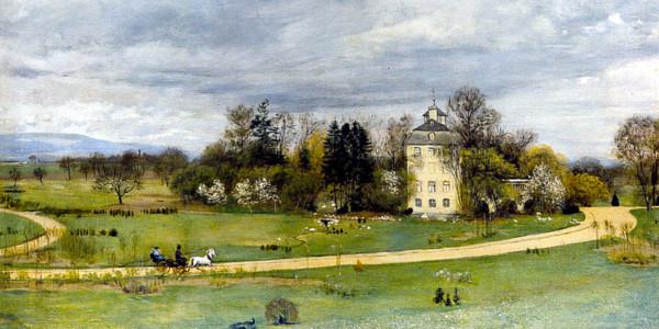 Hans Thoma: Der Holzhausenpark in Frankfurt a. M, 1880