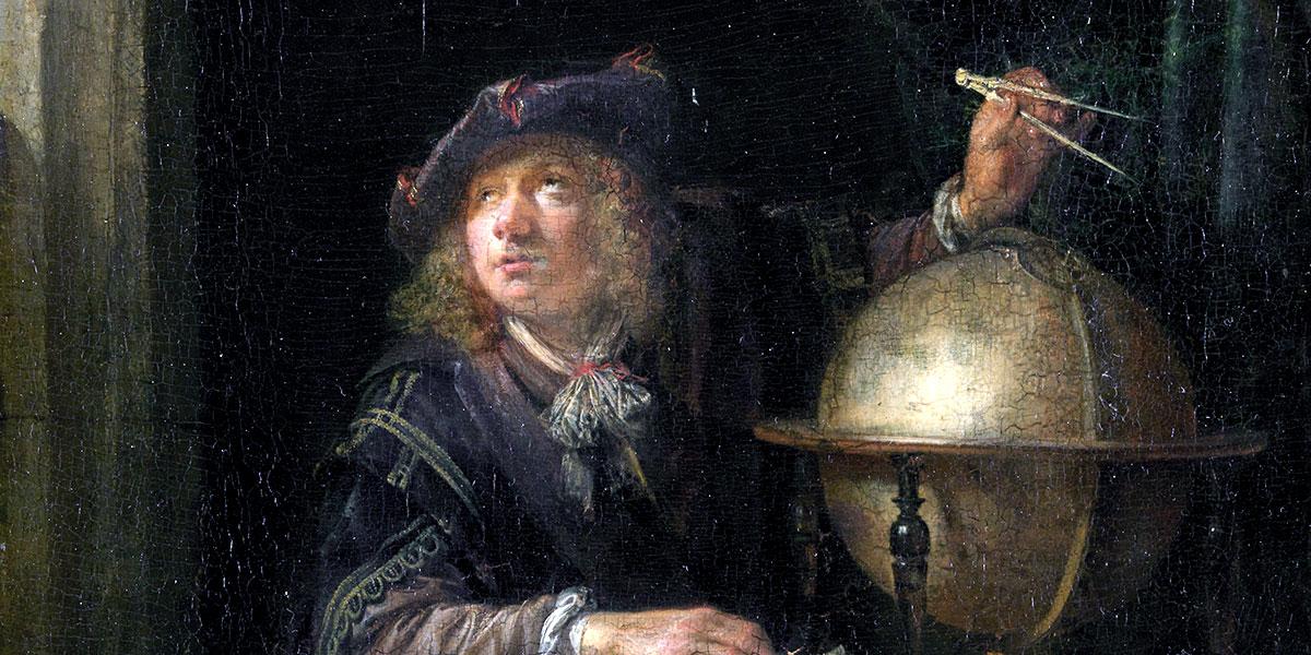 Astronomer in a window. Gerrit Dou (1613–1675)
