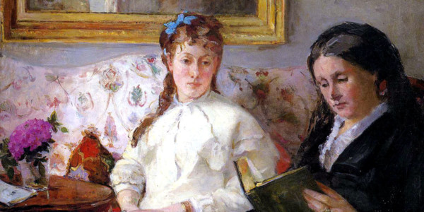 Mother and Sister of the Artist. Berthe Morisot
