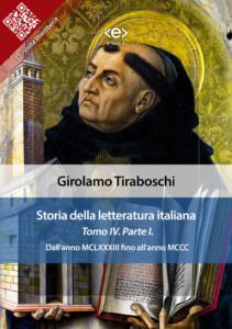Storia della letteratura italiana. Tomo IV – Parte I, di Girolamo Tiraboschi