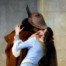 Il bacio (1859). Francesco Hayez