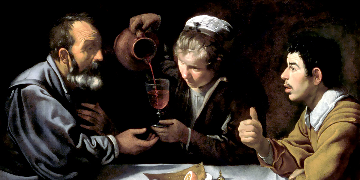 The Lunch. Diego Velazquez