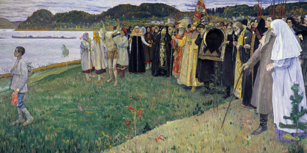 In Russia. Soul of the people. Mikhail Nesterov