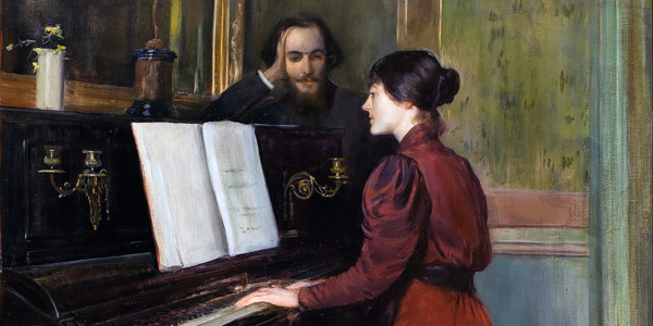 A Romance. Santiago Rusinol