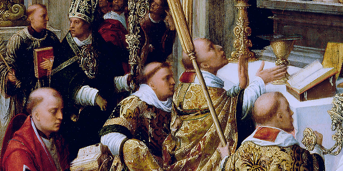 The Mass of Saint Gregory the Great. Adriaen Isenbrant
