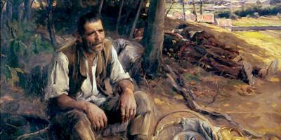 A sesta (1909). Jose Malhoa
