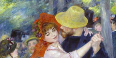 La Danse à Bougival di Pierre-Auguste Renoir