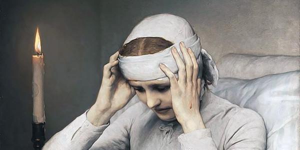 The Ecstatic Virgin Anna Katharina Emmerich (1885). Gabriel von Max