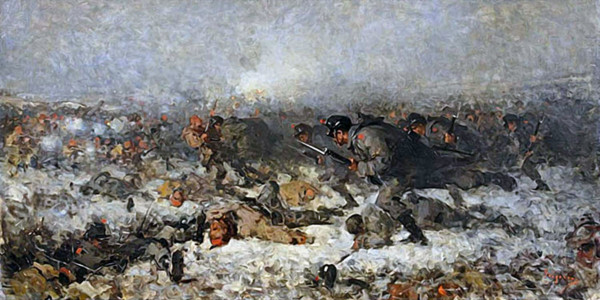 Smârdan Attack. Nicolae Grigorescu
