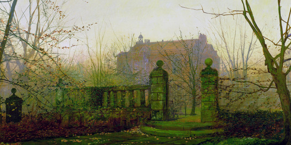 Autumn Morning. John Atkinson Grimshaw