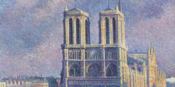 """Notre-Dame de Paris"", di Maximillian Luce (particolare)"