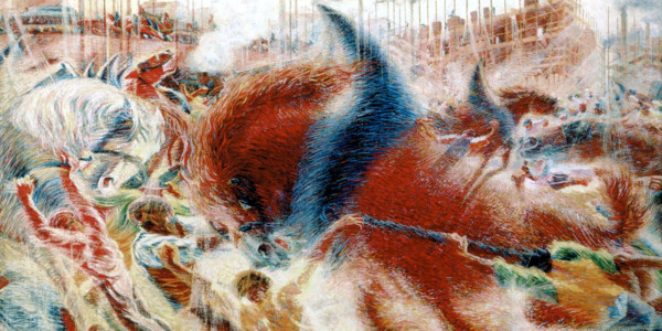 The City Rises, 1910. Umberto Boccioni