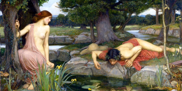 Echo and Narcissus. John William Waterhouse