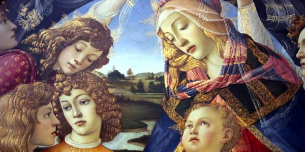 Madonna del Magnificat di Sandro Botticelli